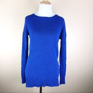 Ruby Moon• Royal Blue Tunic Sweater